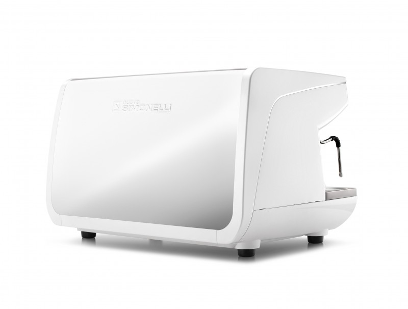 Nuova Simonelli Appia Life 2 Group in White- Image of Back Angled